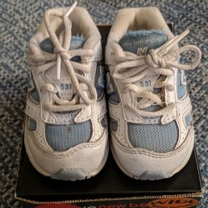 Used Baby Toddler New Balance Shoes wide width